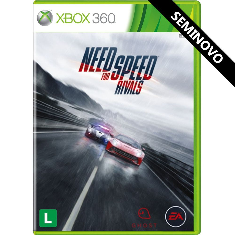 Need for Speed Rivals - Xbox 360 (Seminovo)
