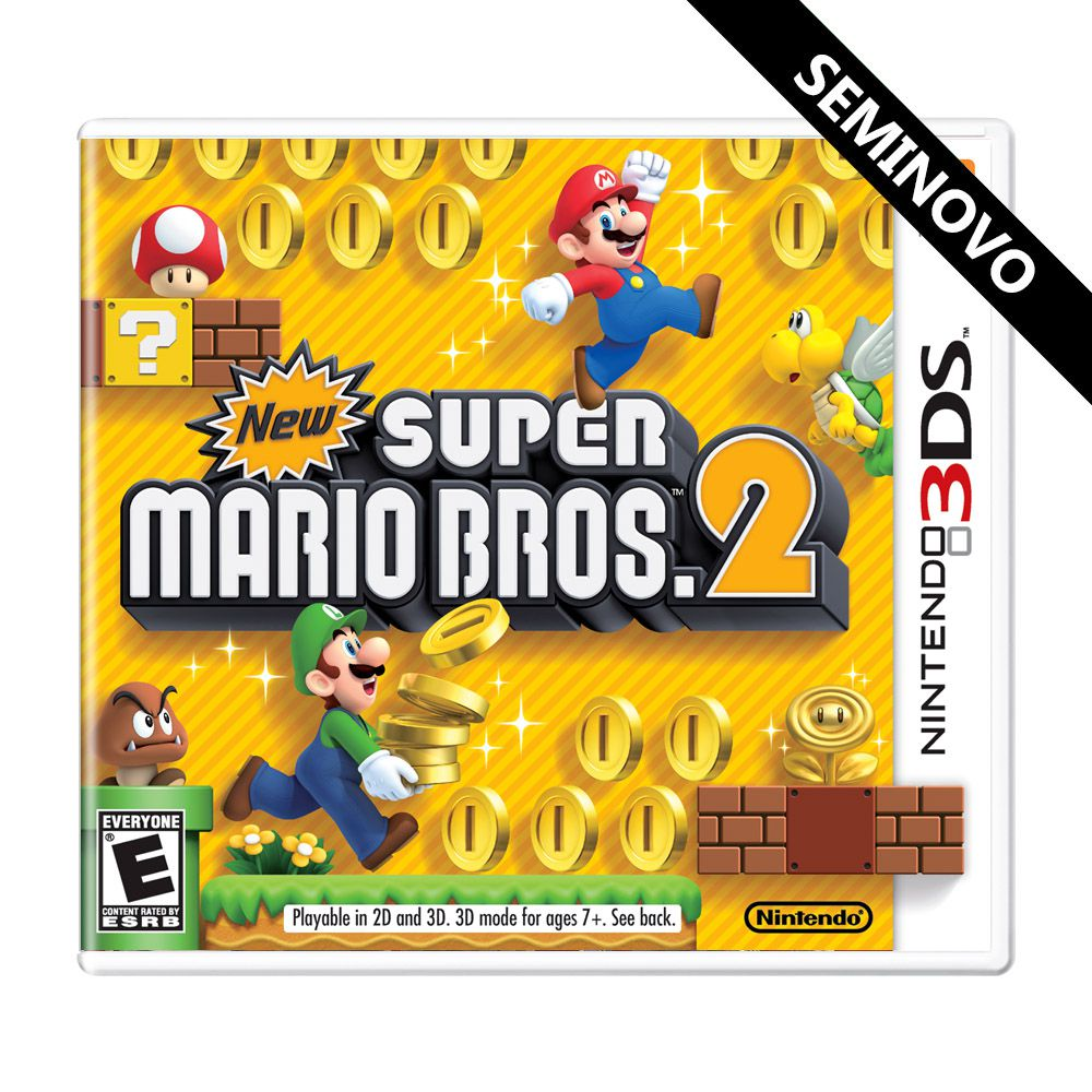 New Super Mario Bros 2 - 3DS (Seminovo)