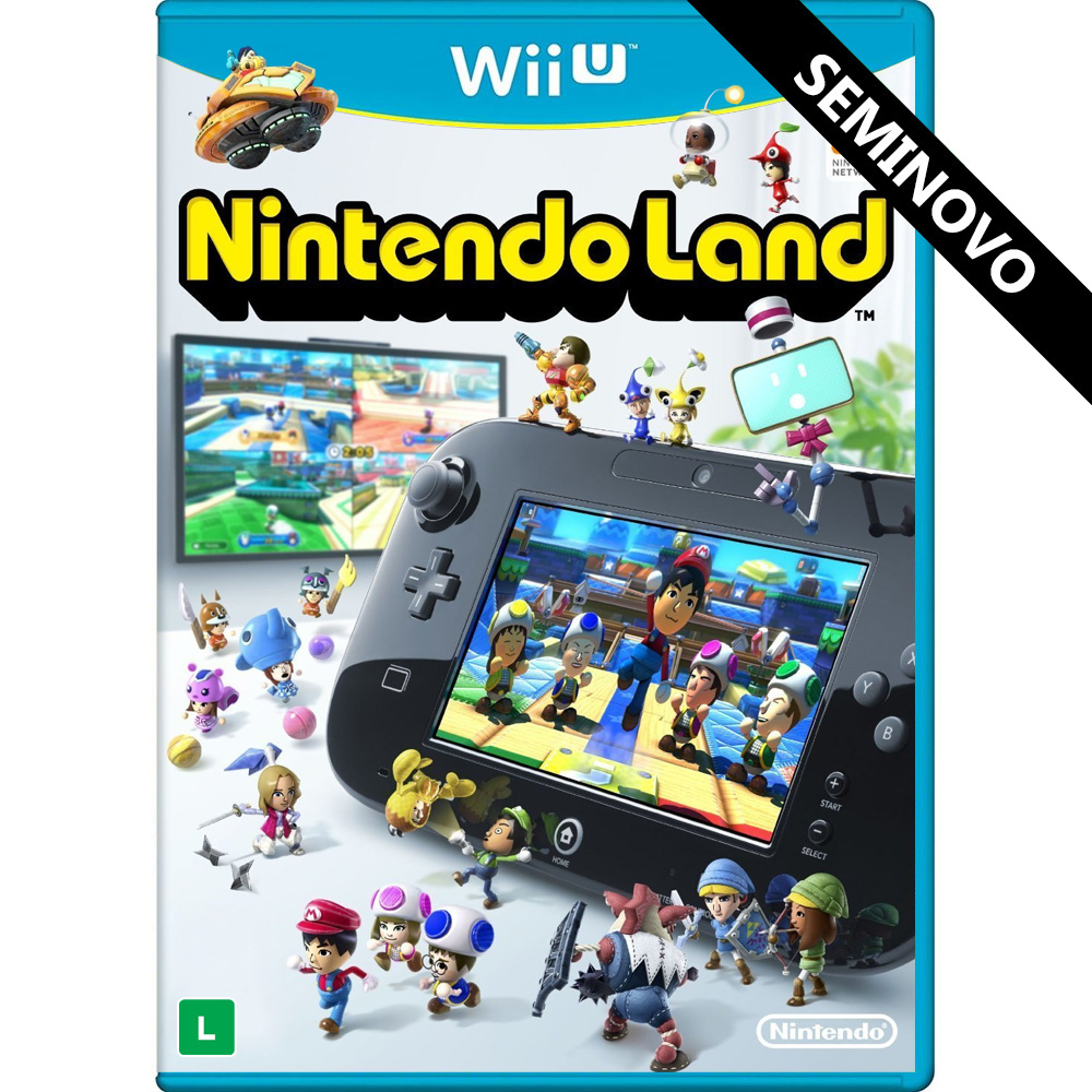 Nintendo Land - Wii U (Seminovo)