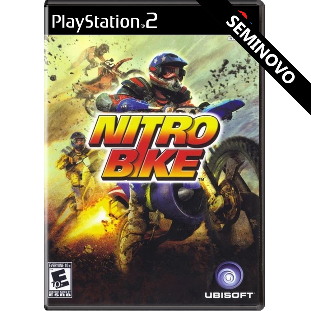 Nitrobike - PS2 (Seminovo)
