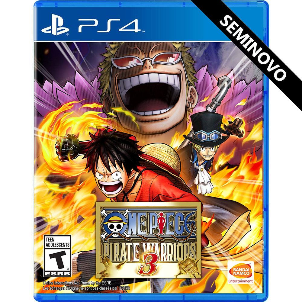 One Piece Pirate Warriors 3 - PS4 (Seminovo)