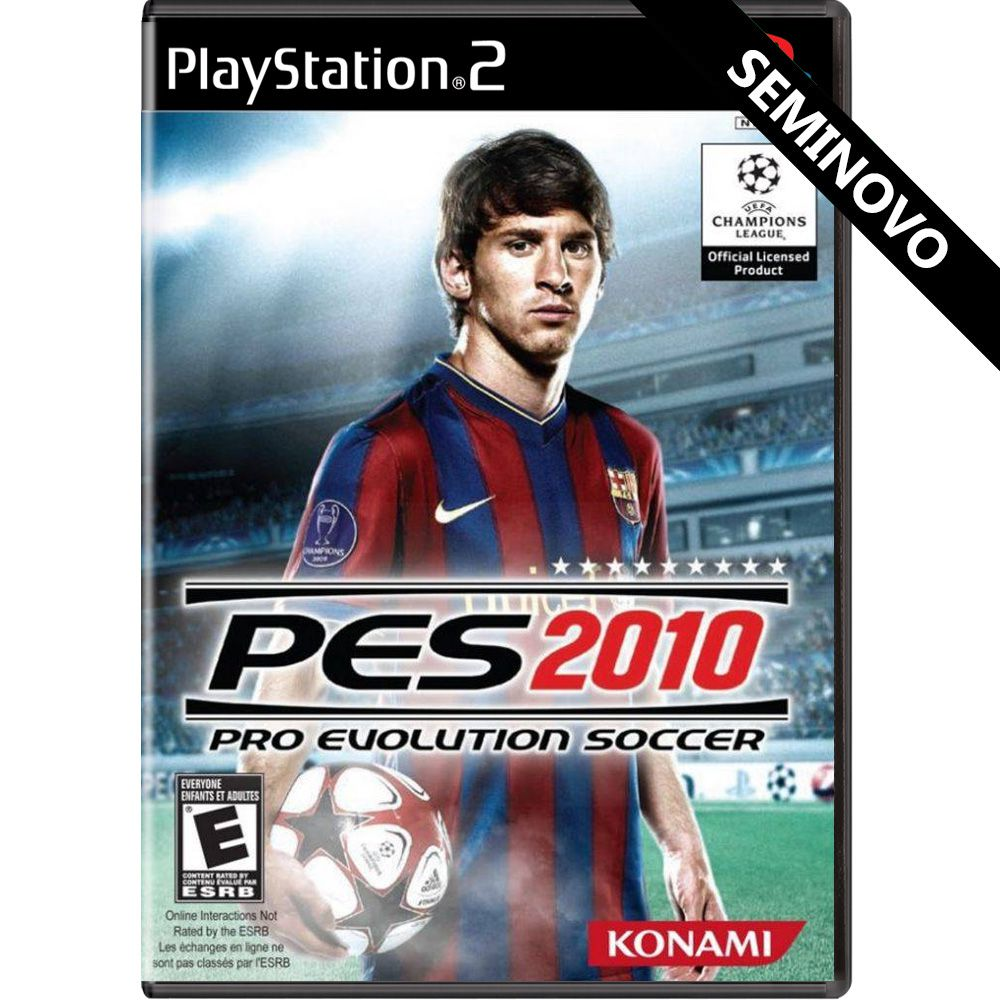 PES2010 - PS2 (Seminovo)