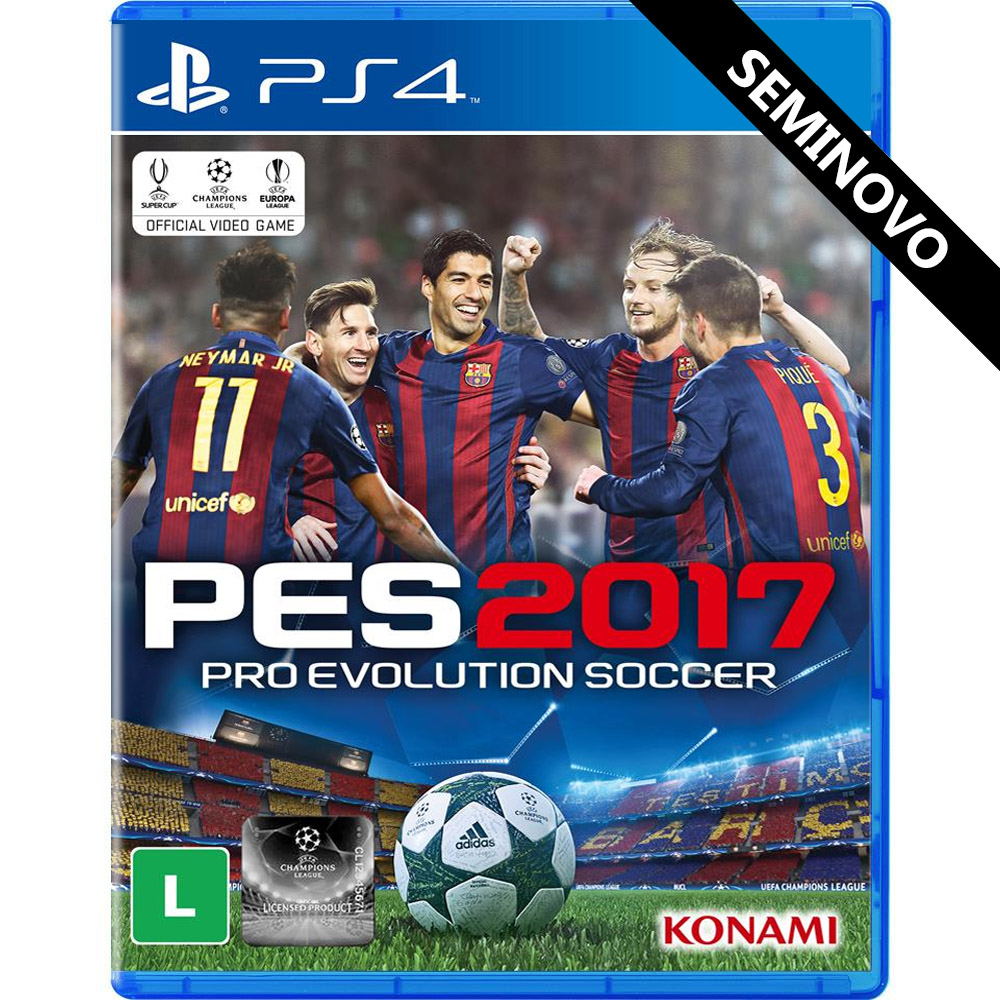 PES 2017 - PS4 (Seminovo)
