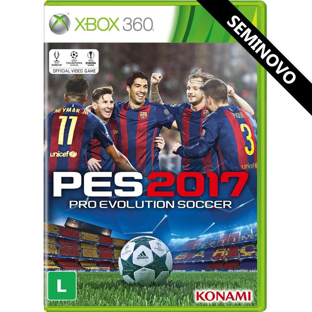 PES 2017 - Xbox 360 (Seminovo)