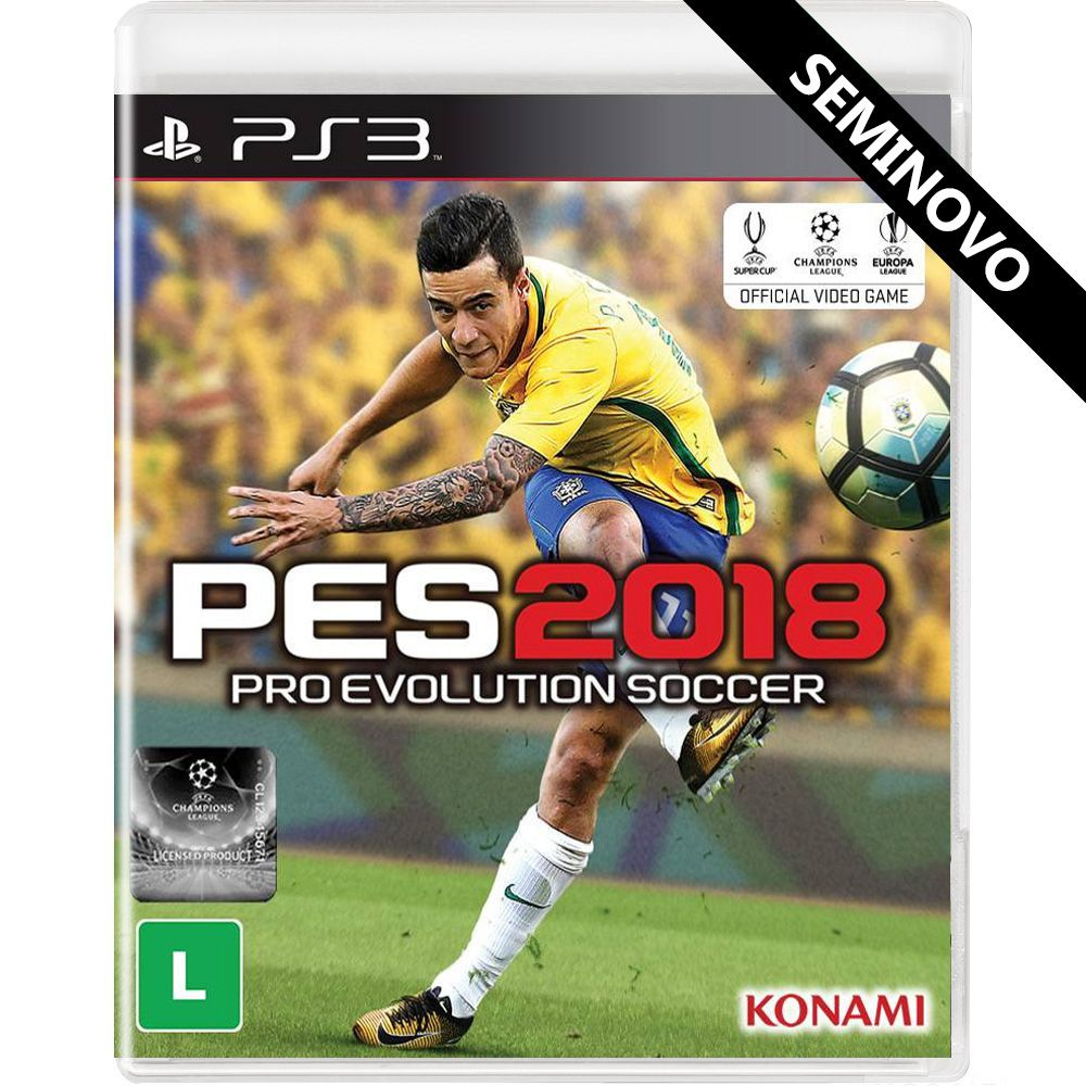 PES 2018 - PS3 (Seminovo)