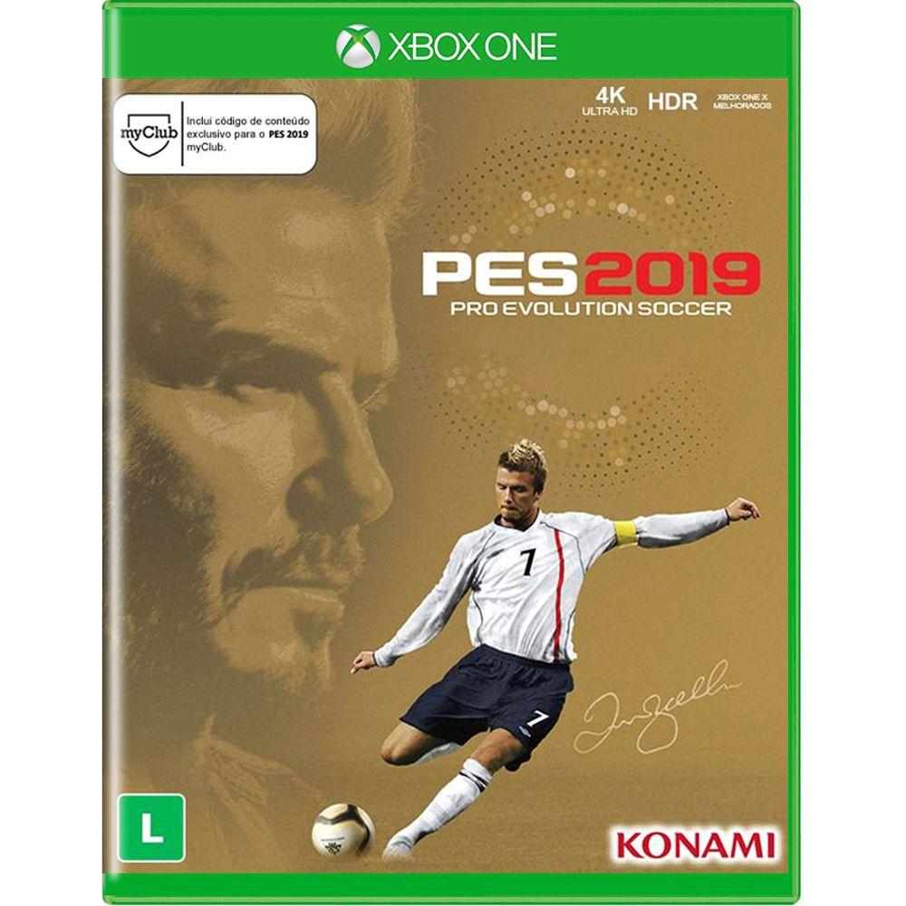 PES 2019 Edição David Beckham - Xbox One