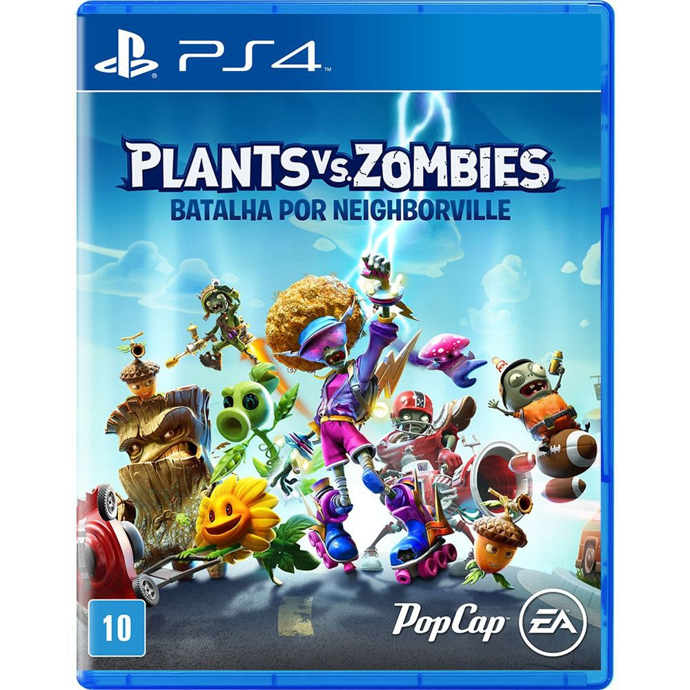 Plants vs Zombies Batalha por Neighborville - PS4