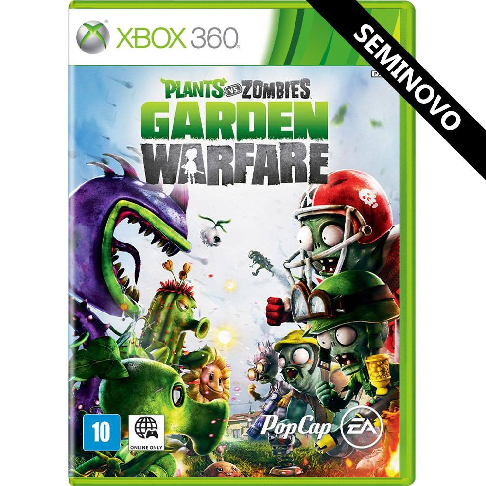 Plants vs Zombies Garden Warfare - Xbox 360 (Seminovo)