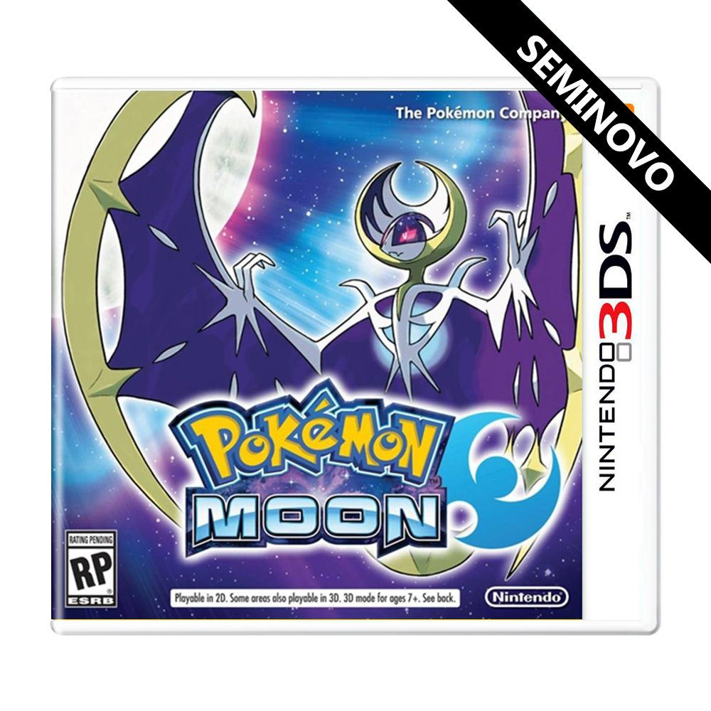 Pokémon Moon - 3DS (Seminovo)