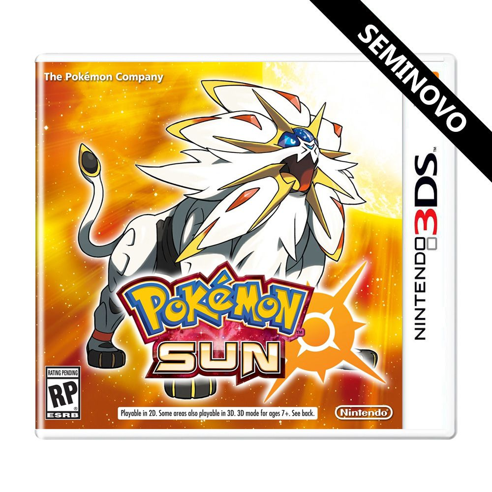 Pokémon Sun - 3DS (Seminovo)