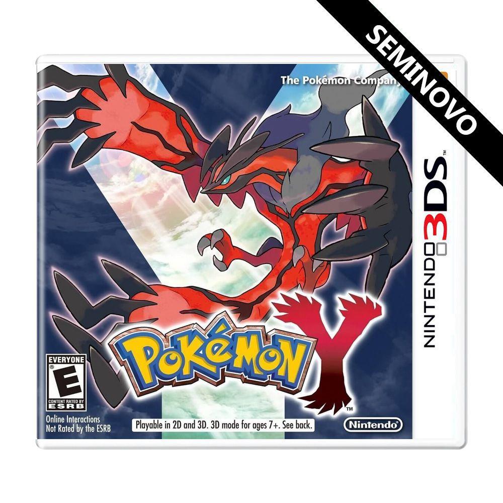 Pokémon Y - 3DS (Seminovo)