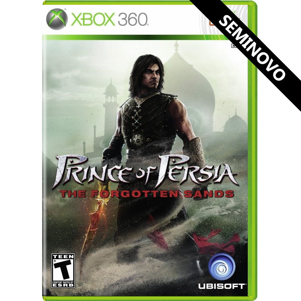 Prince of Persia The Forgotten Sands - Xbox 360 (Seminovo)