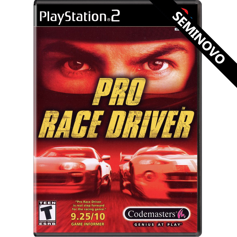 Pro Race Driver - PS2 (Seminovo)