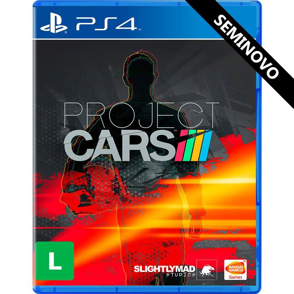 Project Cars - PS4 (Seminovo)