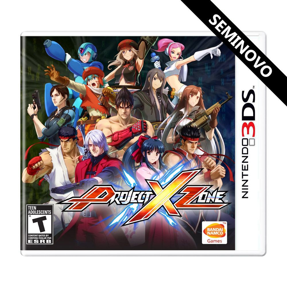 Project X Zone - 3DS (Seminovo)