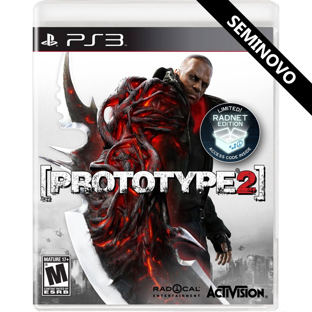 Prototype 2 - PS3 (Seminovo)