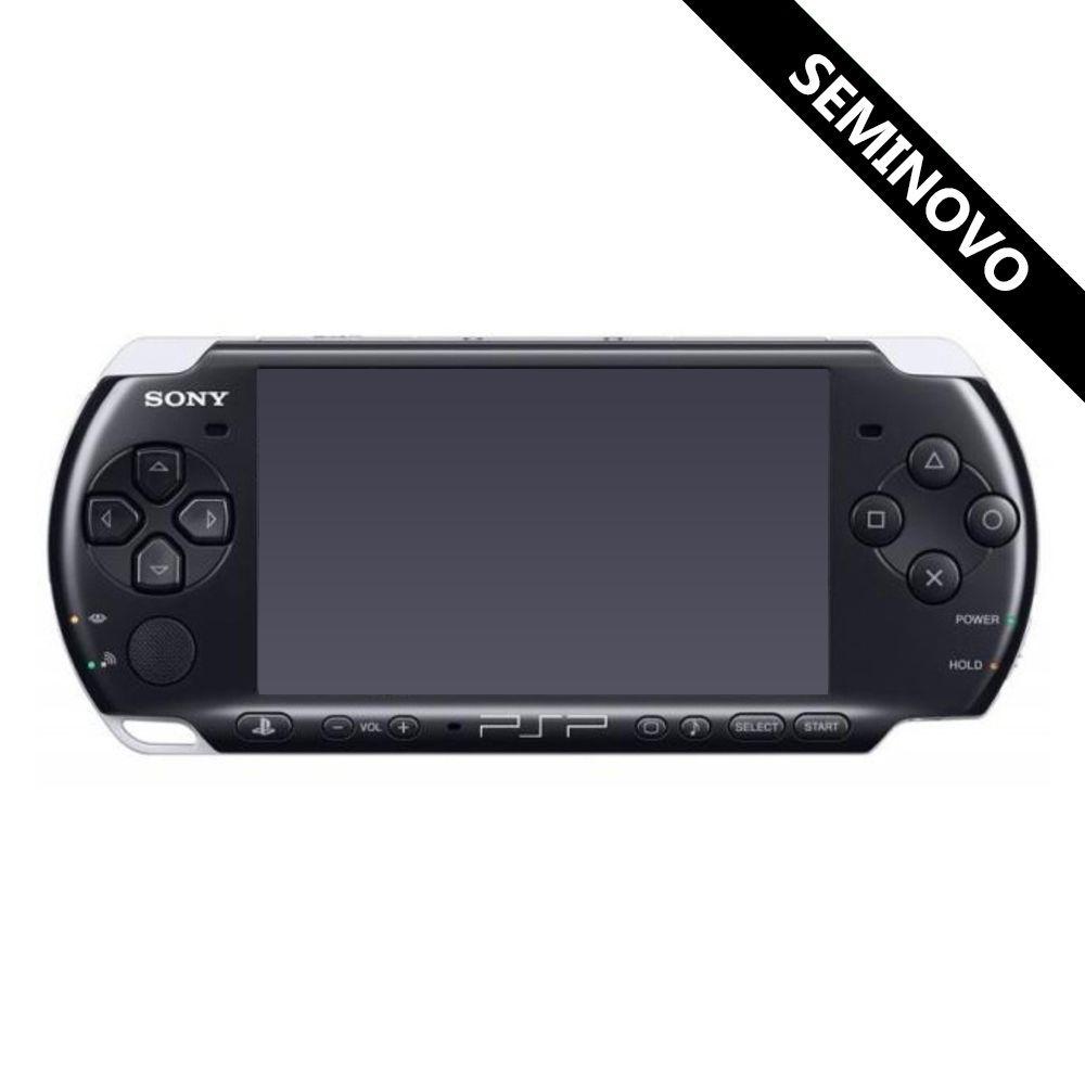PSP Slim (Seminovo) com Cartão de Memória 8GB e Case