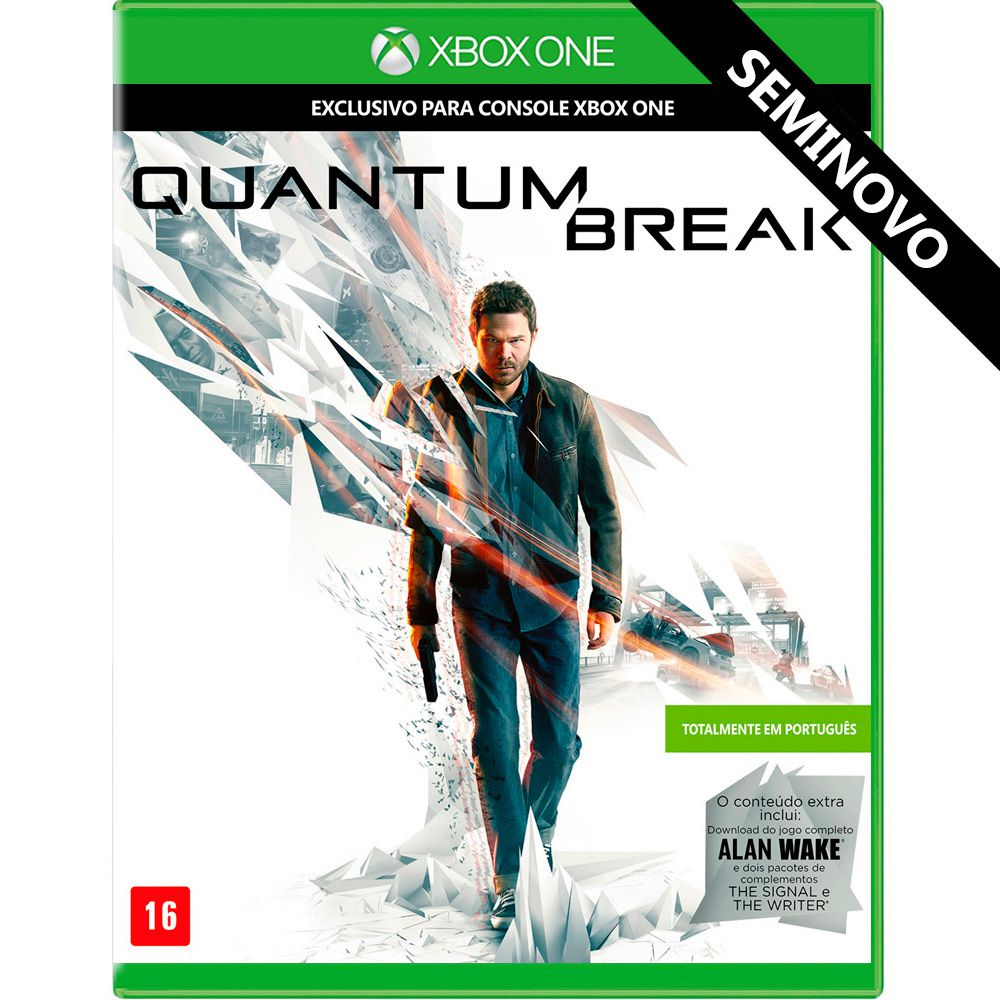Quantum Break - Xbox One (Seminovo)