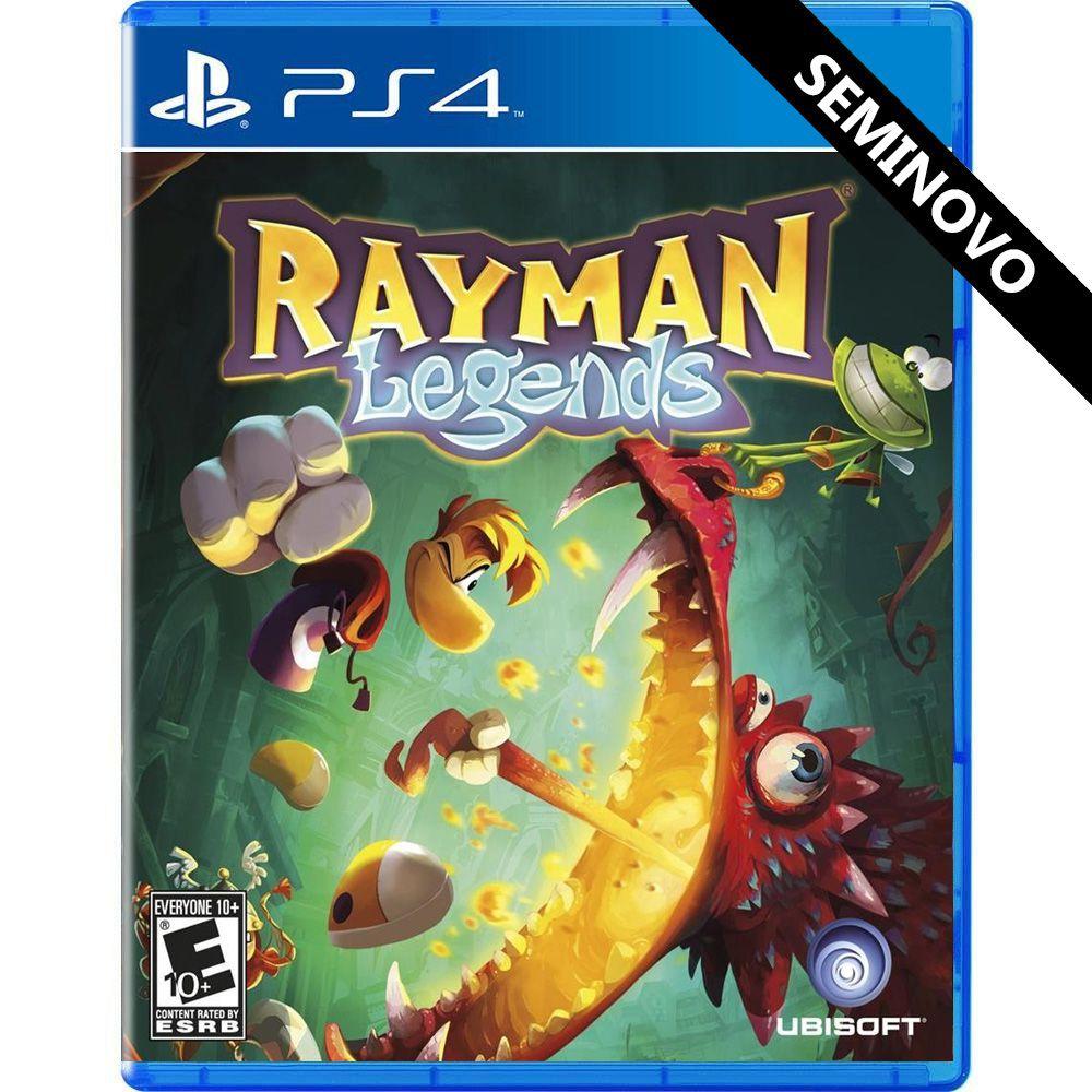 Rayman Legends - PS4 (Seminovo)
