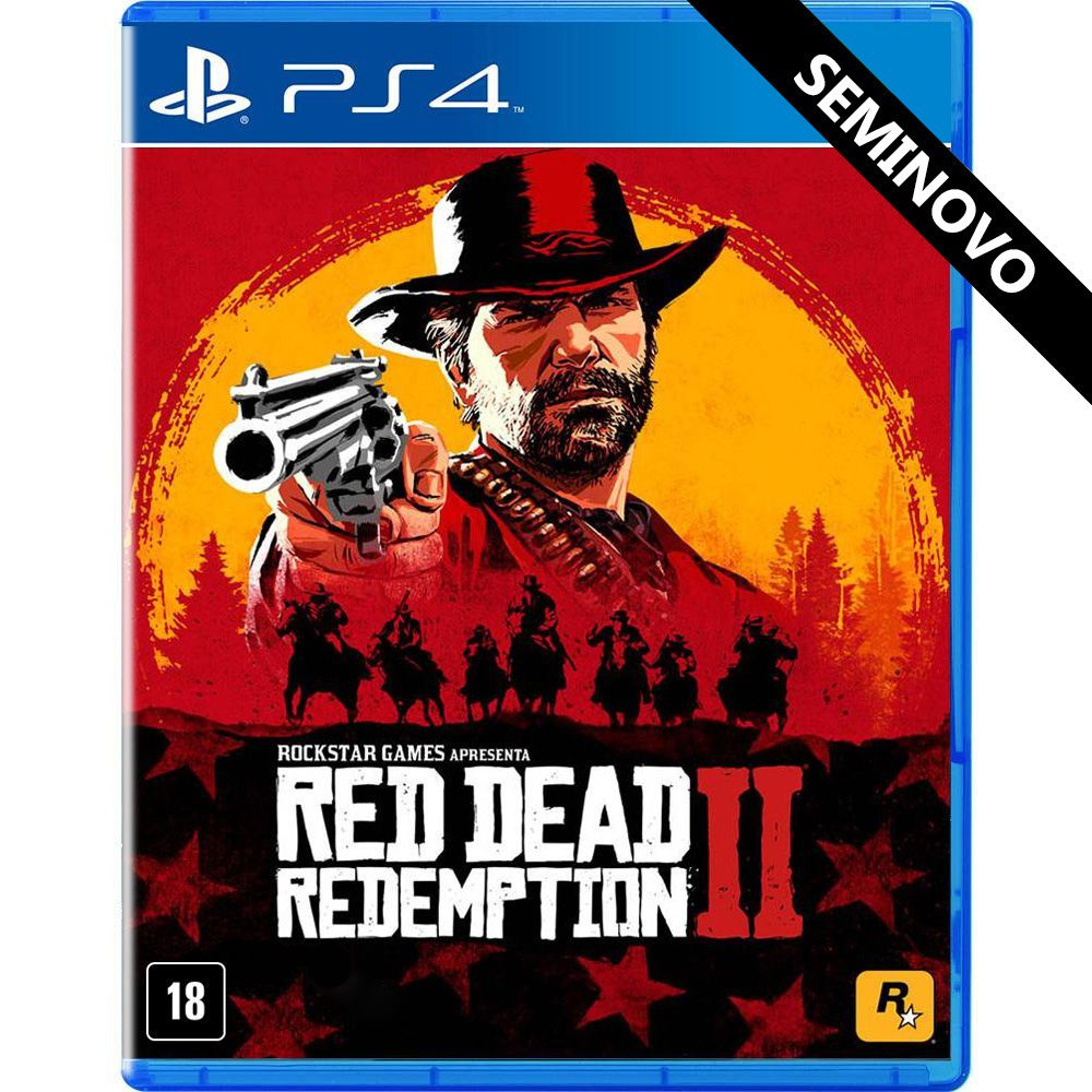 Red Dead Redemption 2 - PS4 (Seminovo)