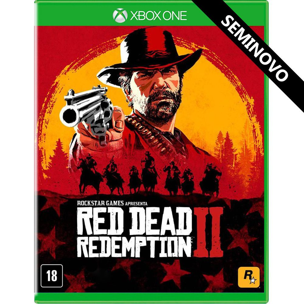 Red Dead Redemption 2 - Xbox One (Seminovo)