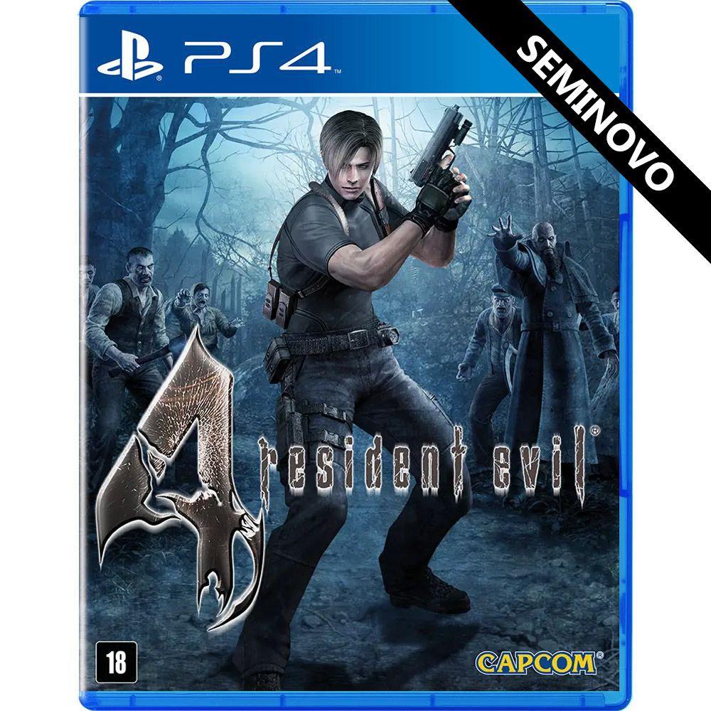 Resident Evil 4 - PS4 (Seminovo)