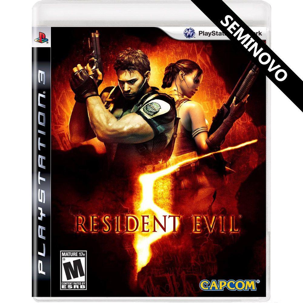 Resident Evil 5 - PS3 (Seminovo)