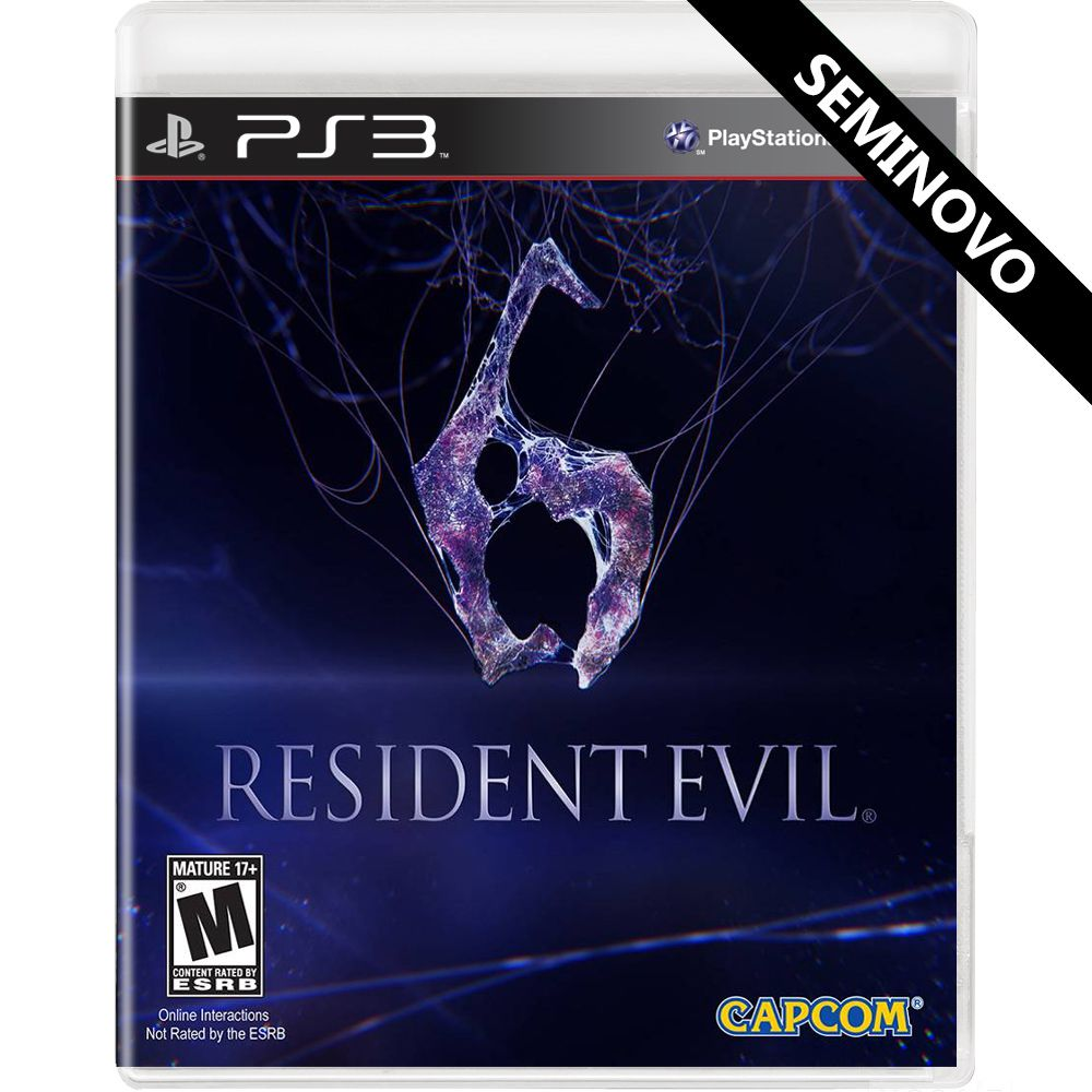 Resident Evil 6 - PS3 (Seminovo)