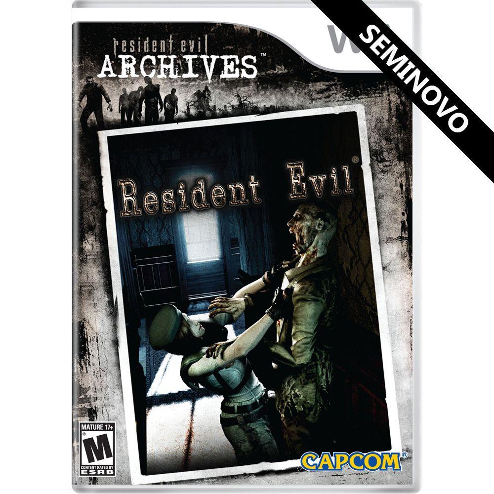 Resident Evil Archives Resident Evil - Wii (Seminovo)
