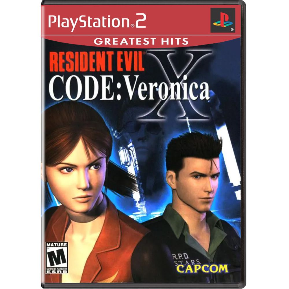 Resident Evil Code Veronica X (Greatest Hits) - PS2