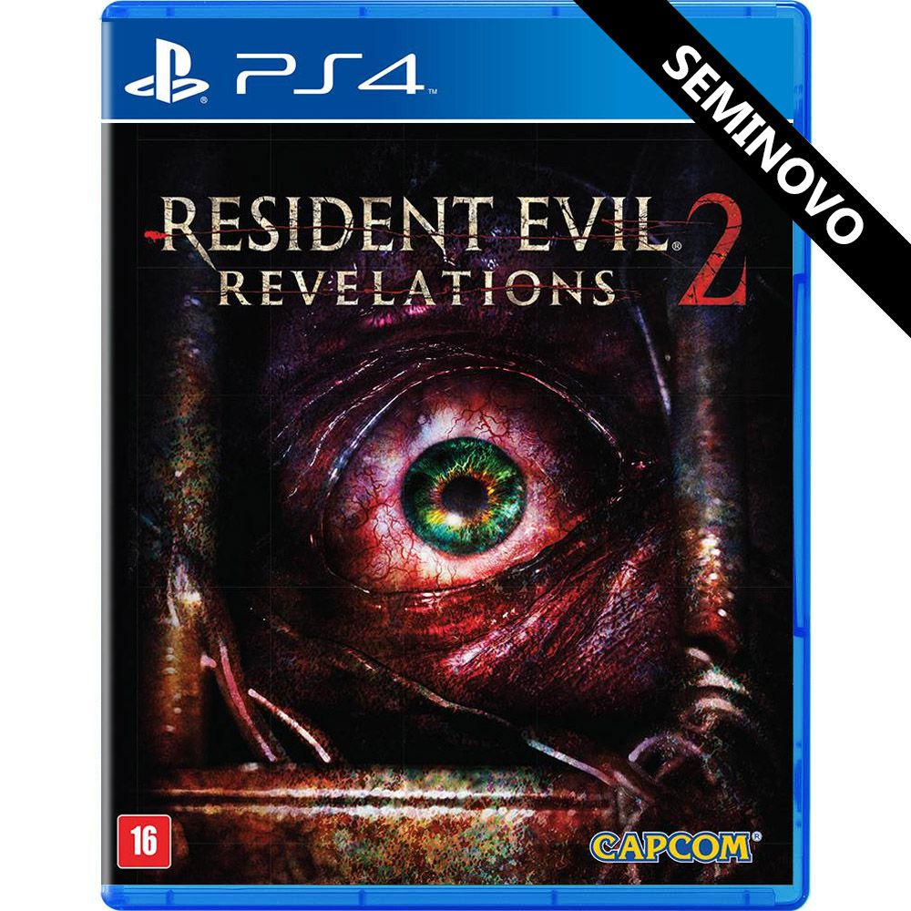 Resident Evil Revelations 2 - PS4 (Seminovo)