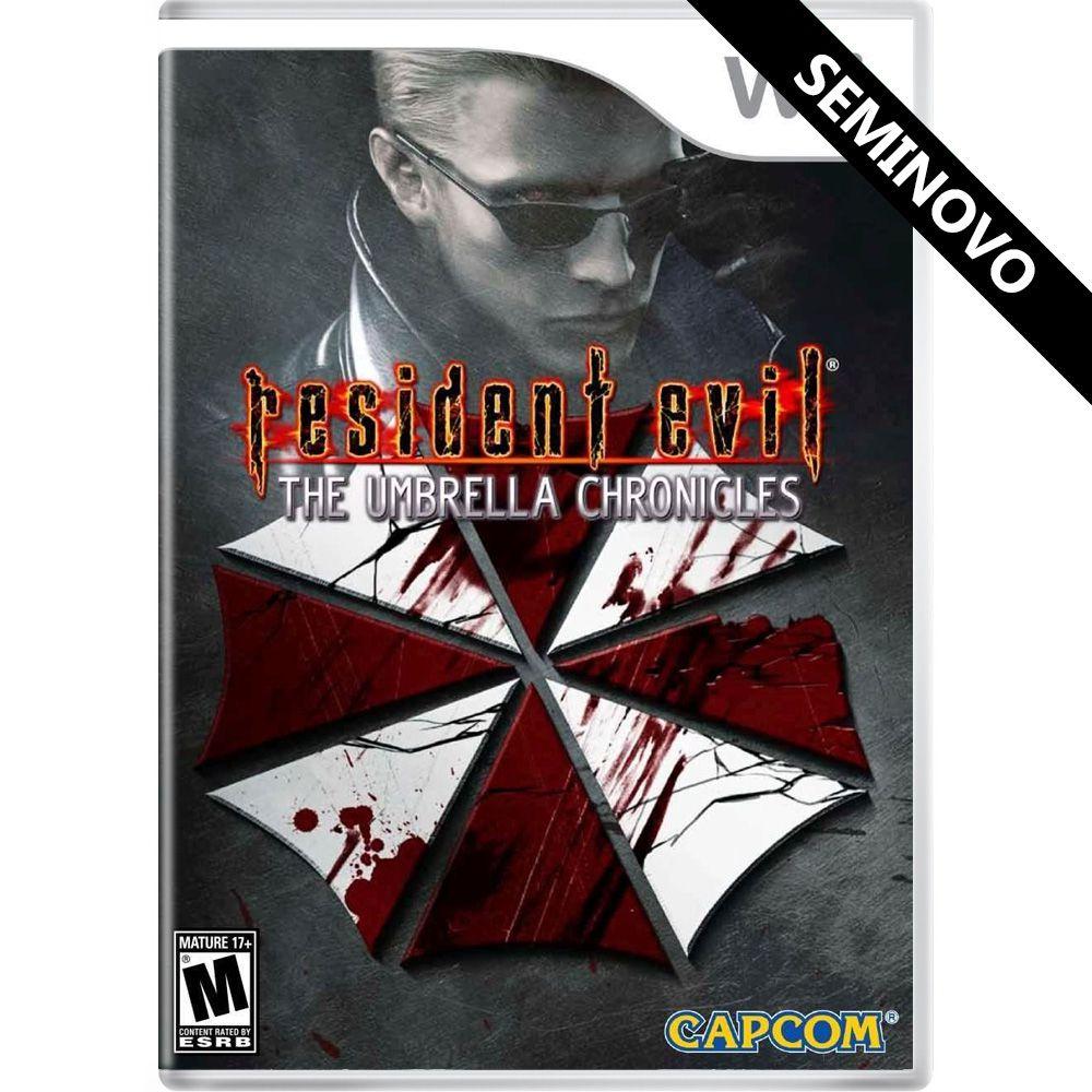 Resident Evil The Umbrella Chronicles - Wii (Seminovo)