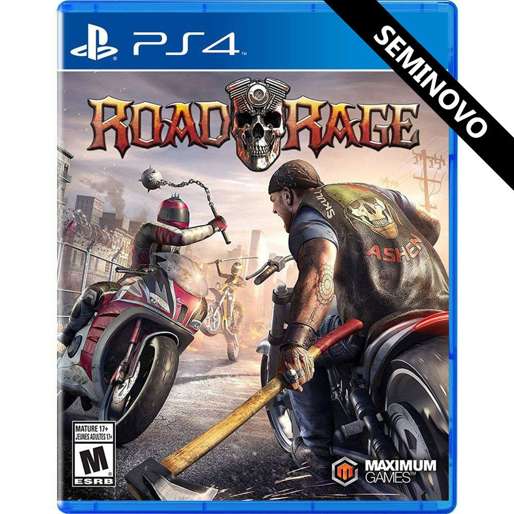 Road Rage - PS4 (Seminovo)