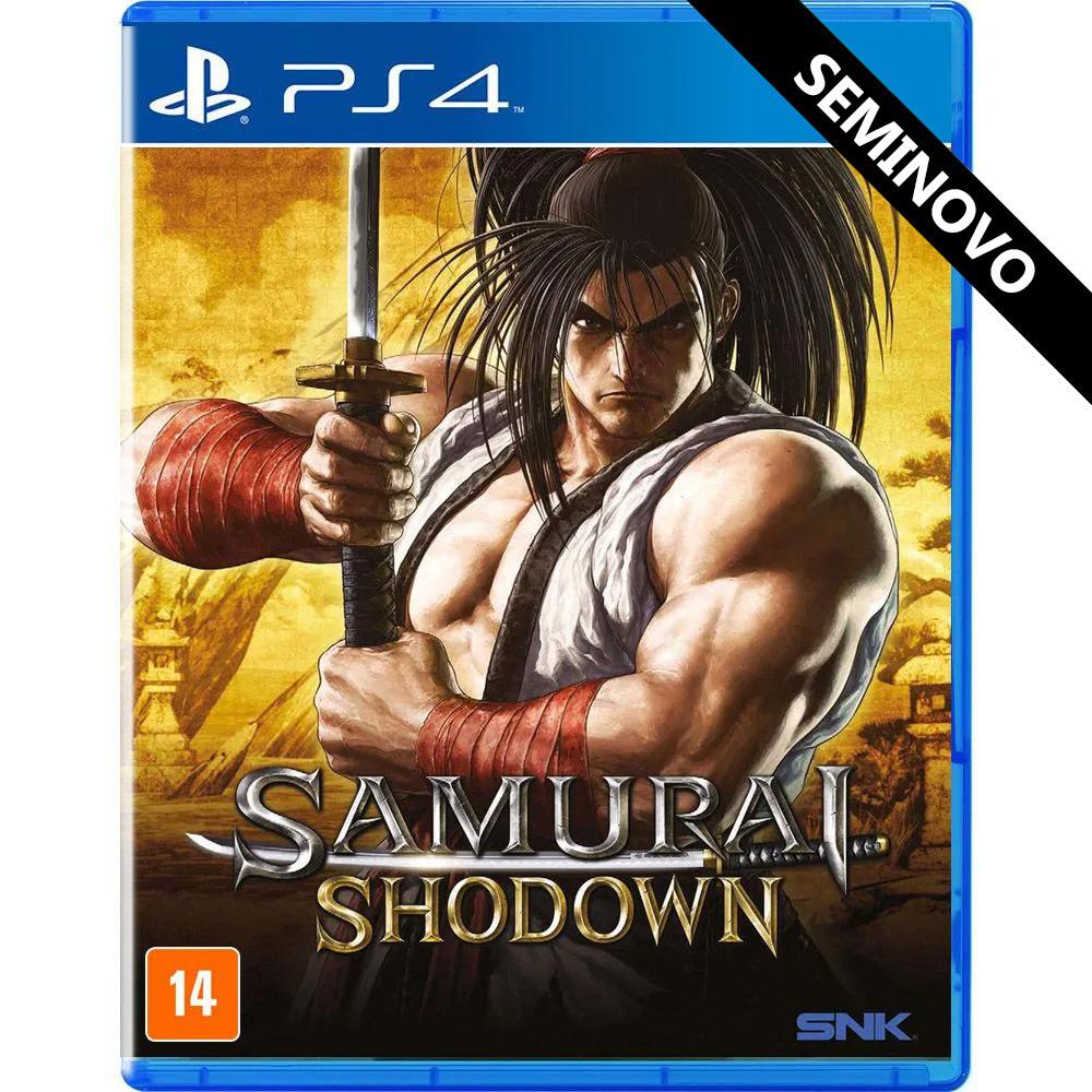 Samurai Shodown - PS4 (Seminovo)