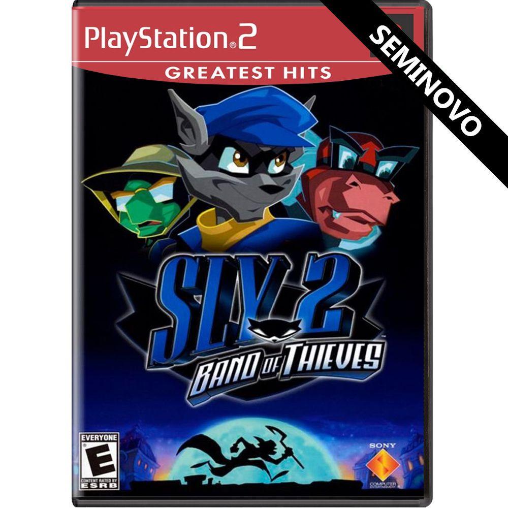 Sly 2 Band of Thieves (Greatest Hits) - PS2 (Seminovo)