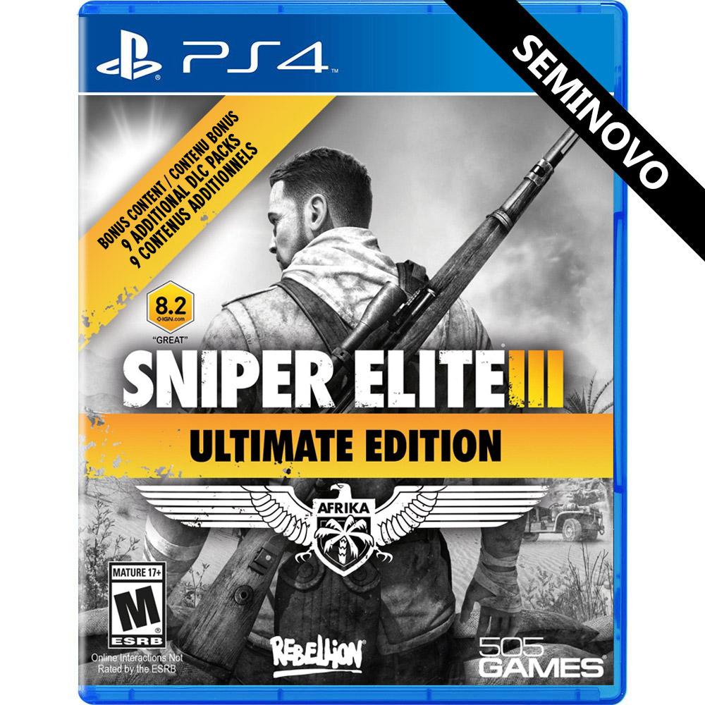 Sniper Elite 3 Ultimate Edition - PS4 (Seminovo)