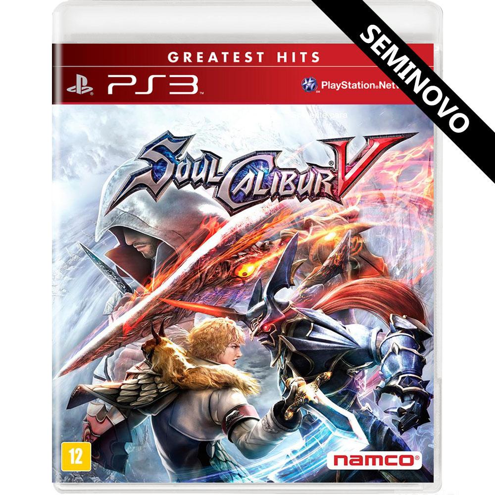 SoulCalibur V - PS3 (Seminovo)