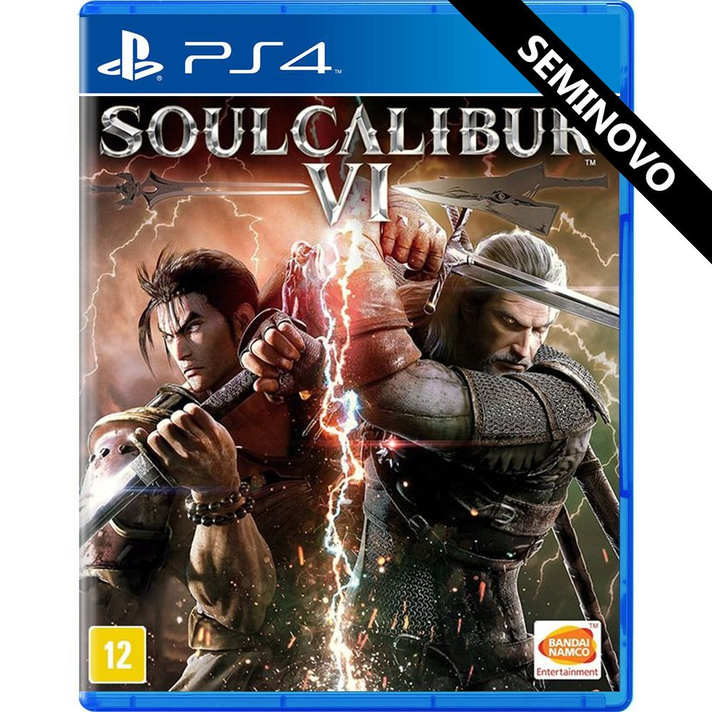 SoulCalibur VI - PS4 (Seminovo)