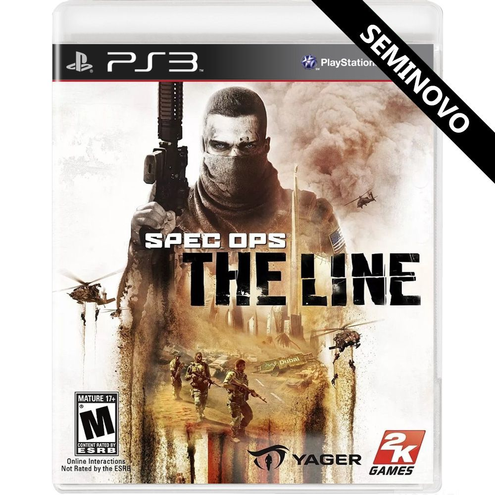 Spec Ops The Line - PS3 (Seminovo)
