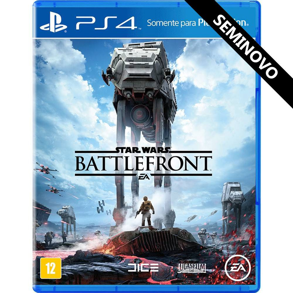 Star Wars Battlefront - PS4 (Seminovo)