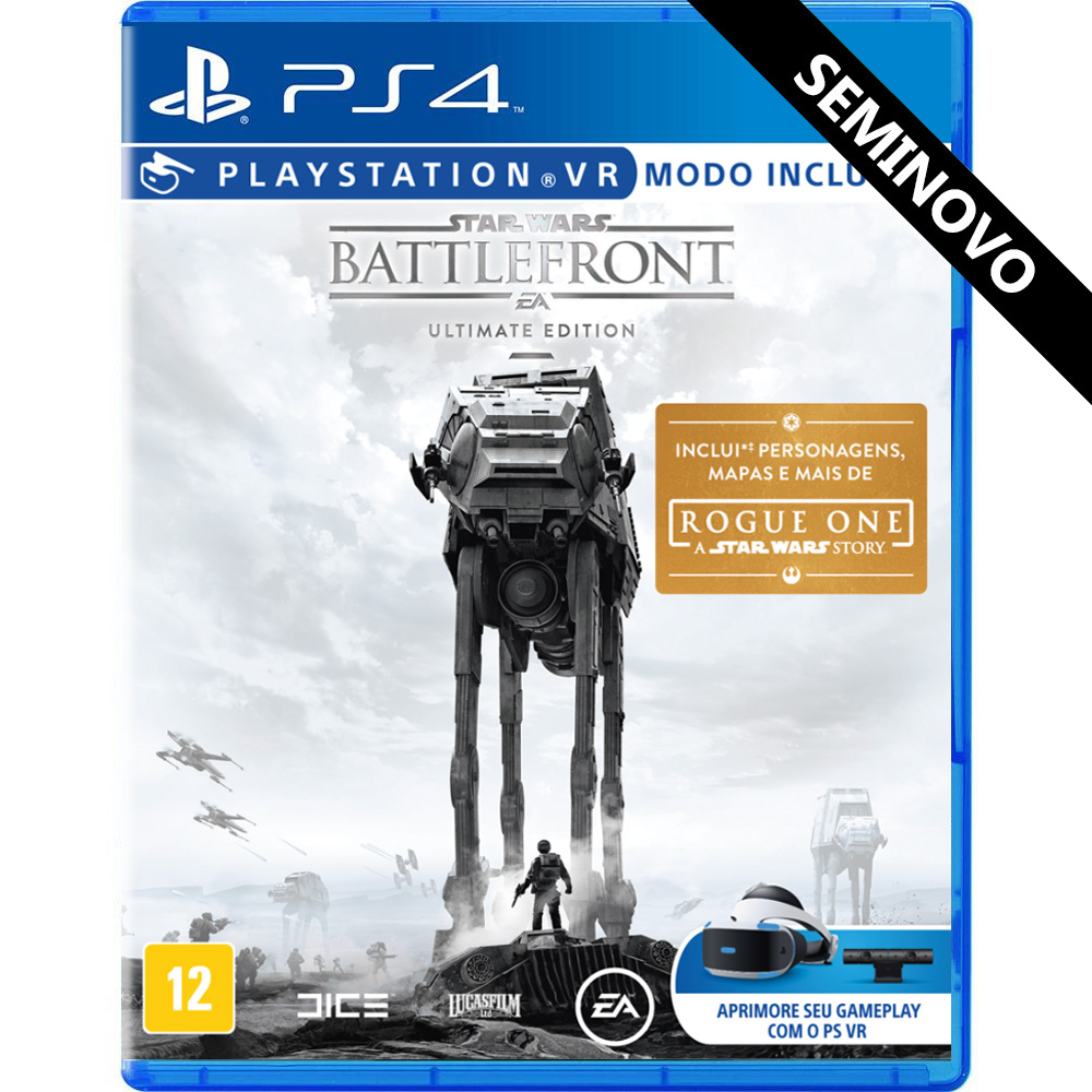 Star Wars Battlefront Ultimate Edition - PS4 (Seminovo)