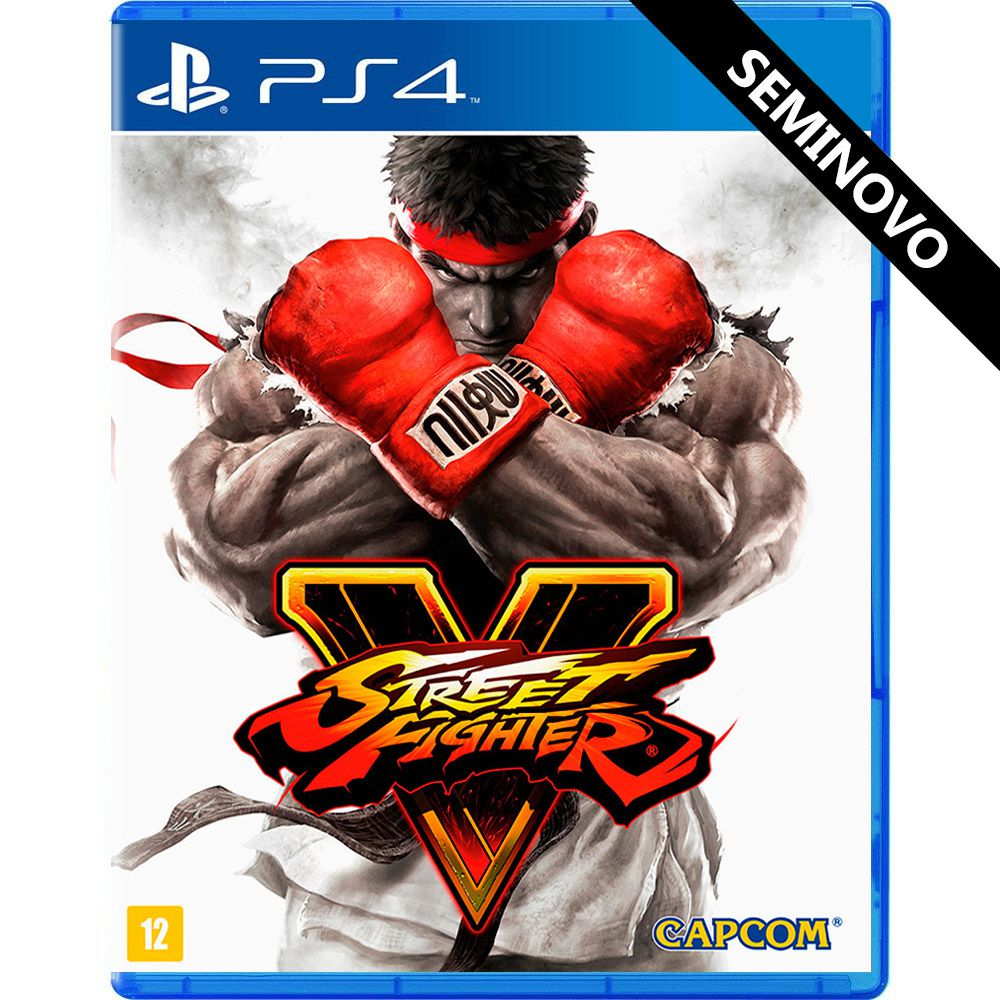 Street Fighter V - PS4 (Seminovo)