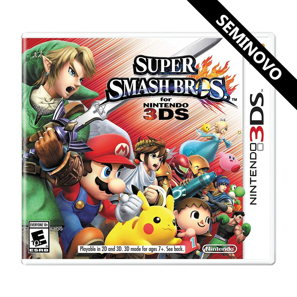 Super Smash Bros - Nintendo 3DS (Seminovo)