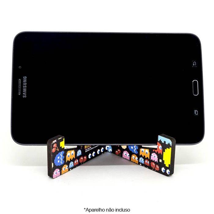 Suporte para Tablet e Celular Pac-Man