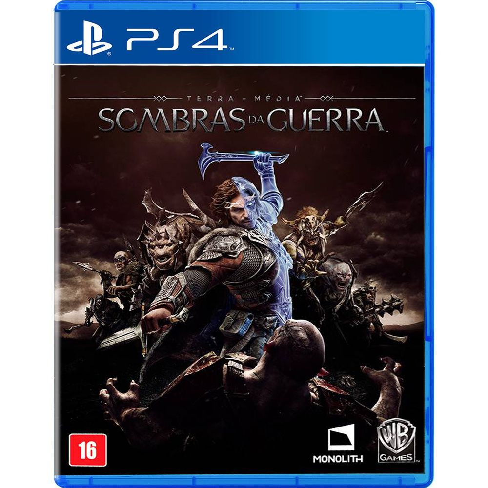 Terra-Média Sombras de Guerra - PS4