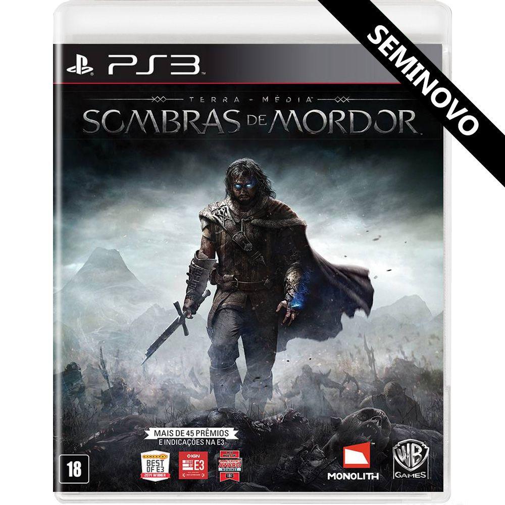 Terra-Média Sombras de Mordor - PS3 (Seminovo)