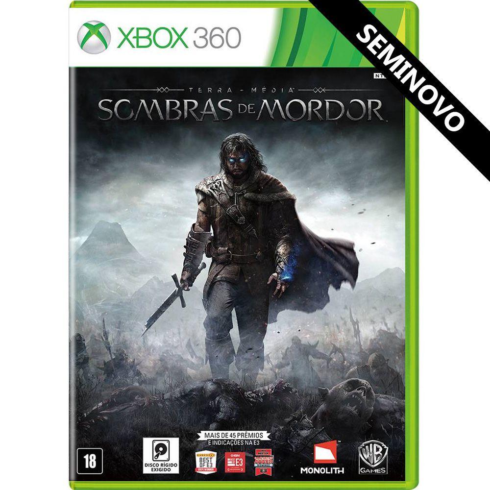 Terra-Média Sombras de Mordor - Xbox 360 (Seminovo)