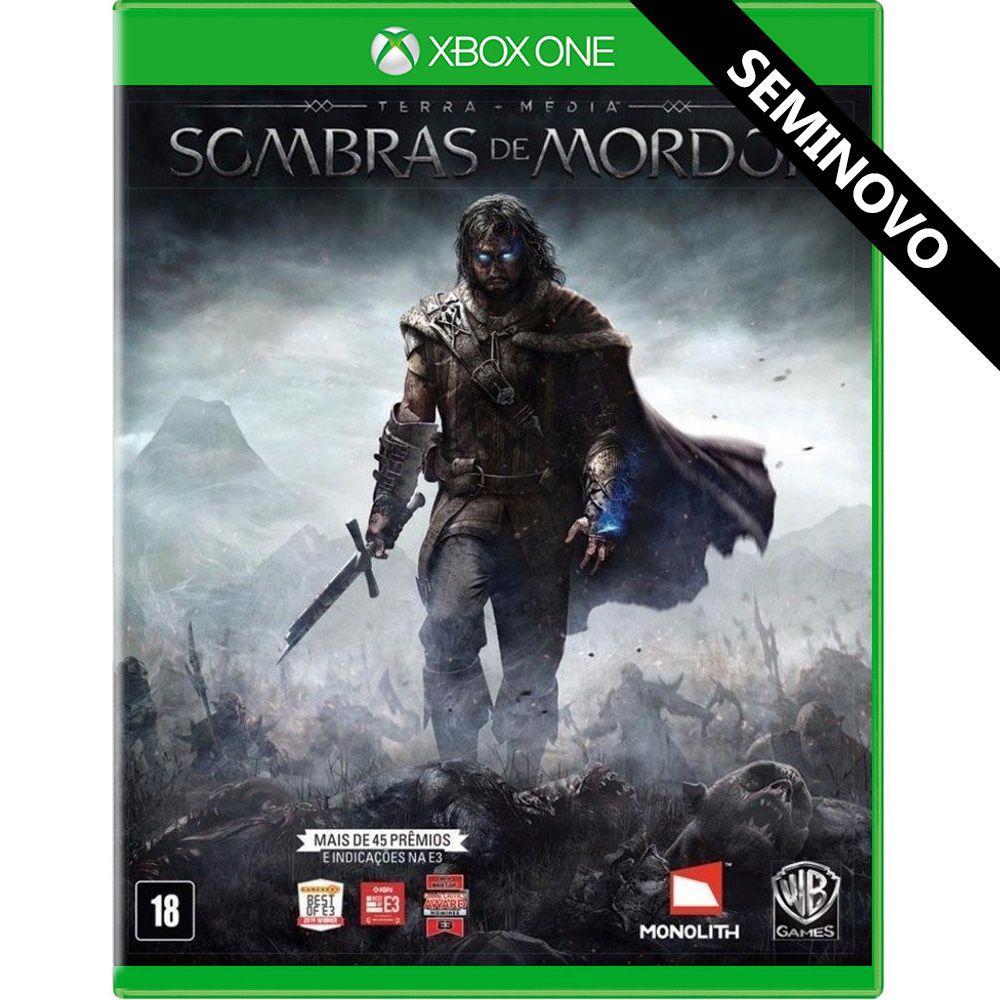 Terra-Média Sombras de Mordor - Xbox One (Seminovo)