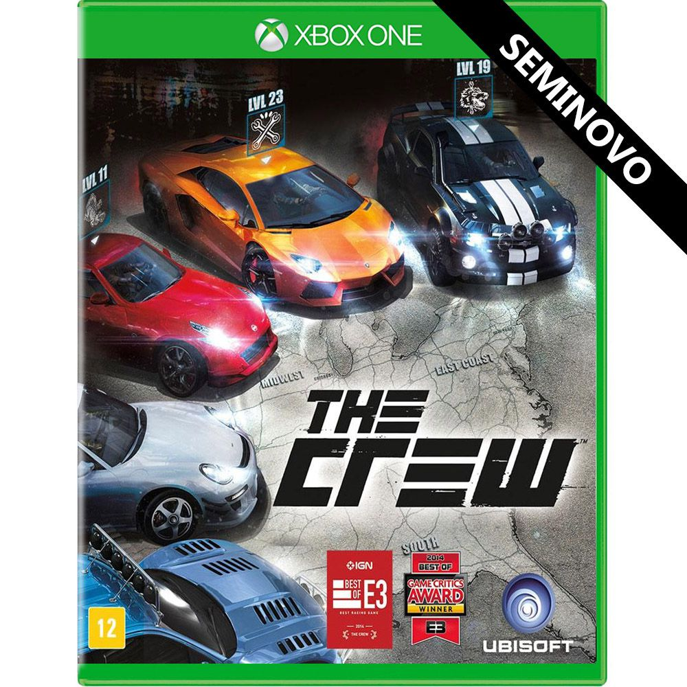 The Crew - Xbox One (Seminovo)
