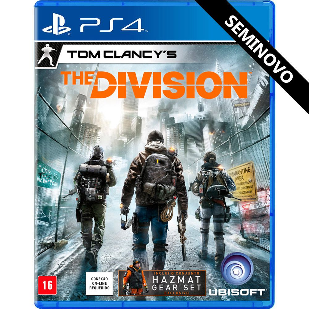 Tom Clancy's The Division - PS4 (Seminovo)
